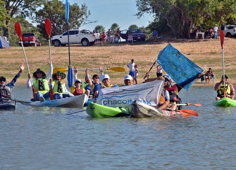 Las consignas fueron muy claras y categóricas en defensa de los humedales, cursos y cuerpos de agua: ¡Basta de contaminación! ¡Basta de represas! ¡Basta de papeleras!