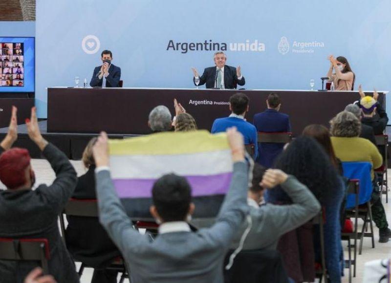 La medida se publicó este miércoles en el Boletín Oficial. El presidente Alberto Fernández encabezó un acto para anunciar los detalles de la iniciativa.