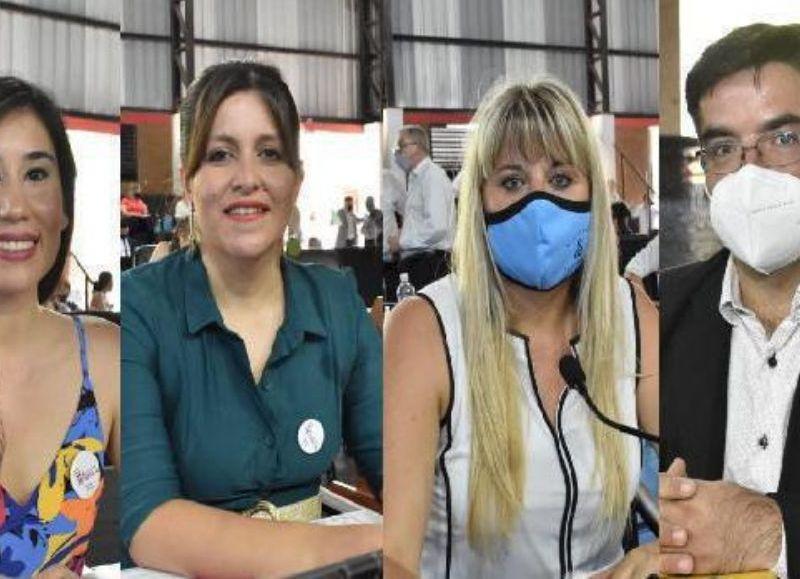 Clara Pérez Otazú junto a sus pares Jéssica Ayala, Jaime Parra Moreno y Liliana Spoljaric impulsaron un proyecto de ley.