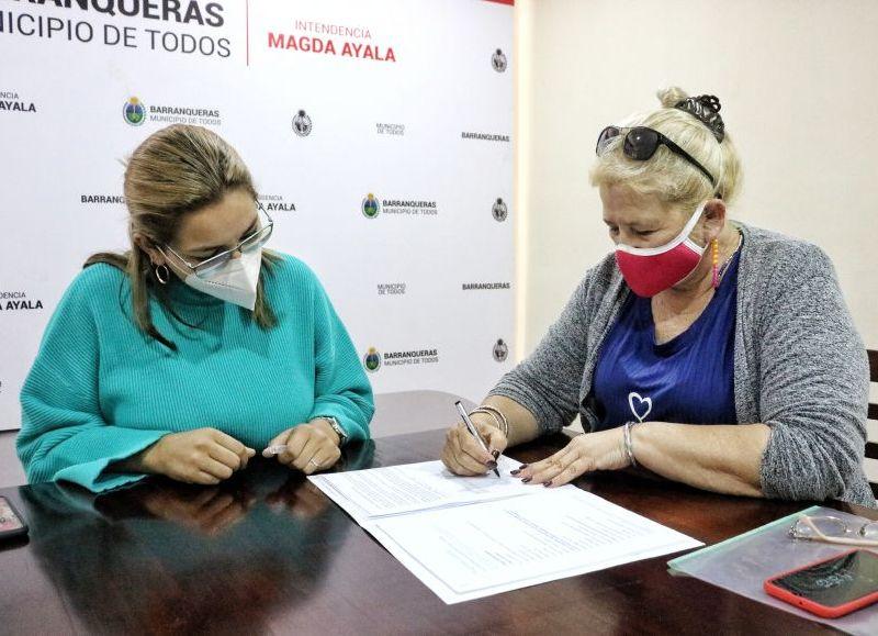 Se firmó un formulario que promueve proyectos productivos.