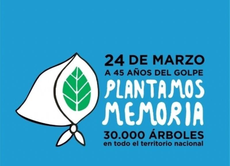 Diputados y diputadas plantarán un árbol nativo, frente al edificio Legislativo, sumándose a las distintas dependencias de nuestro país que harán lo mismo en memoria de los 30 mil desaparecidos.