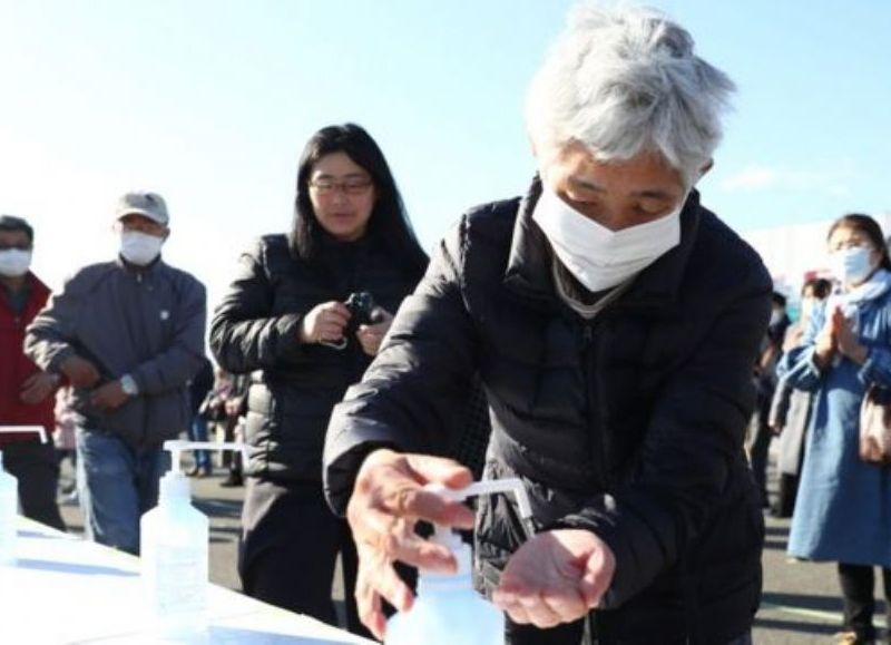 """La gobernadora de Tokio, Yuriko Koike, ha destacado durante la jornada que """"el comportamiento de los jóvenes es clave""""."""