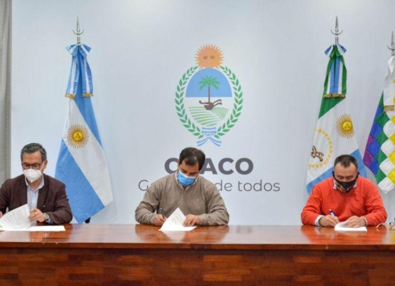 Mediante un acuerdo con el Inti, perfeccionarán y tecnologizarán al sector maderero del Chaco