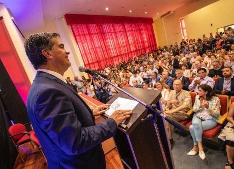 """Capitanich: """"Apuntamos a posicionar al Chaco como potencia ambiental y de producción sostenible"""""""