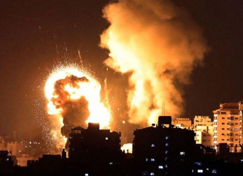 Jerusalén: bombardeo de Israel en Gaza deja al menos 20 muertos, entre ellos 9 niños