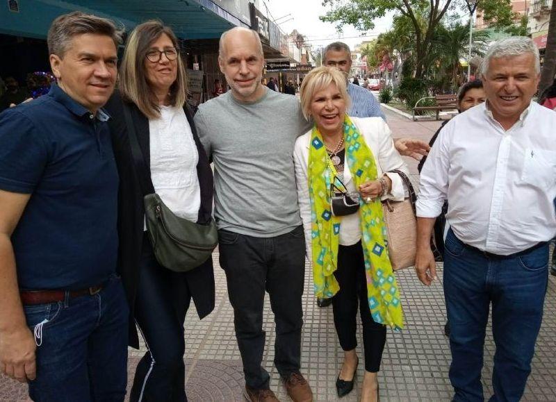Horacio Rodríguez Larreta,  visitó la provincia del Chaco con el objetivo de acompañar los candidatos del frente Chaco Cambia que encabezan Juan Carlos Polini y Leandro Zdero.