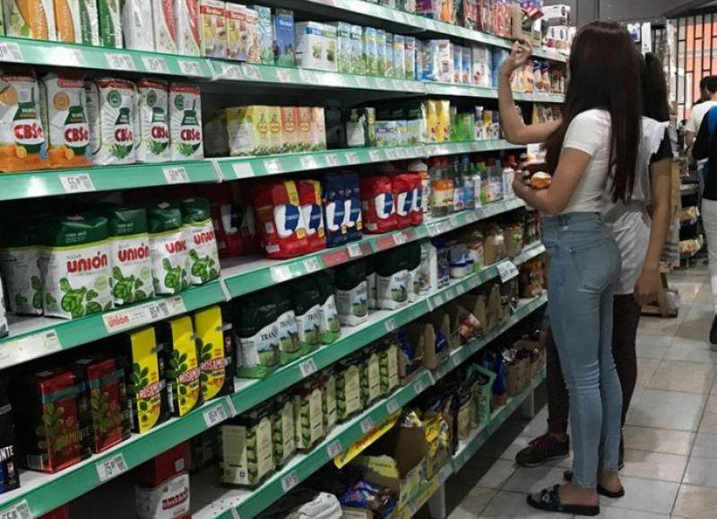 El Chaco tuvo ventas en supermercados en mayo por un total de $1.009,4 millones, según el Indec.