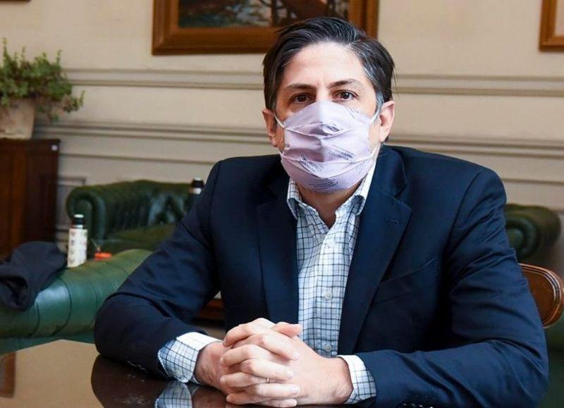 """El ministro insistió con que """"hay un 80% de docentes y auxiliares en todo el país vacunados con una dosis""""."""