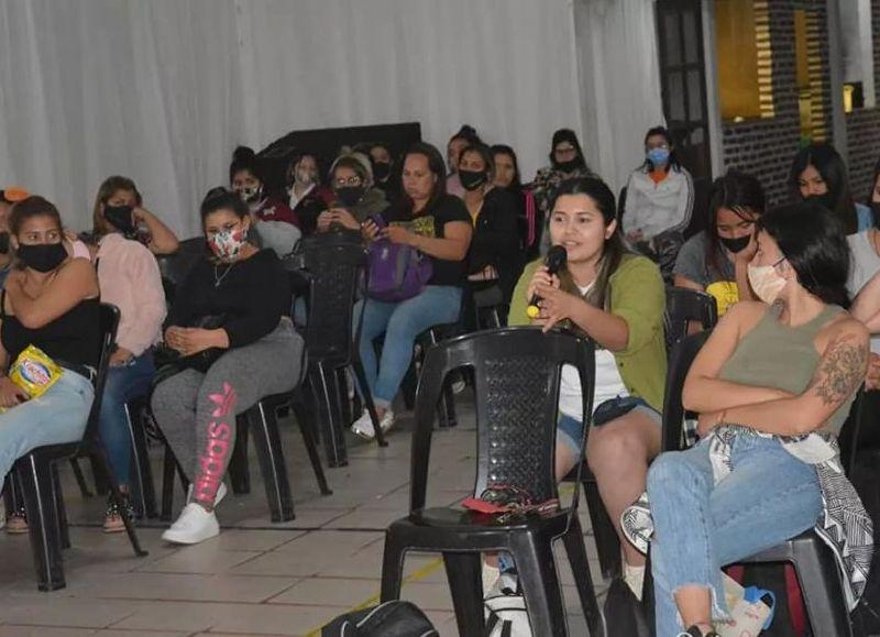 Las Mujeres de la Matria Latinoamericana- Mumala- cerraron una segunda jornada del Encuentro Provincial de Mujeres y Disidencias.