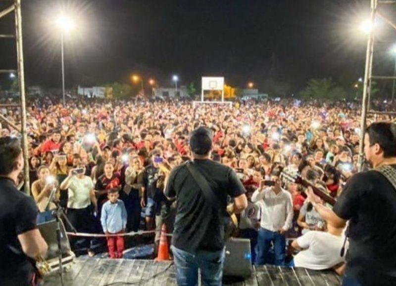Los Continuados, será una de las bandas que esta tarde dirá presente en la fiesta de la Juventud en Barranqueras.