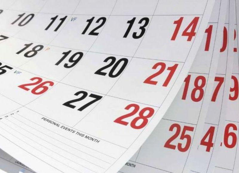 Habrá que esperar más de un mes para el feriado de noviembre.