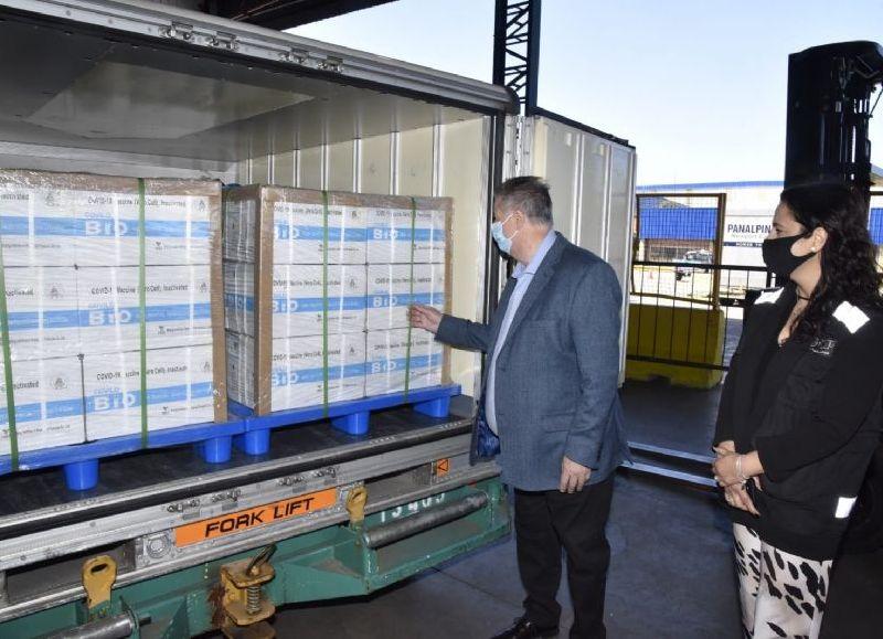 Se completó la recepción de 24 millones de dosis del último acuerdo con Sinopharm.