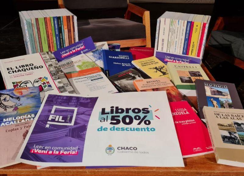 La lectura como un derecho, el libro a mitad de precio es una política pública destinada a la reactivación, de librerías y también de las editoriales que imprimirán alrededor de 20 mil ejemplares, el 90 por ciento de autores y autoras del Chaco.