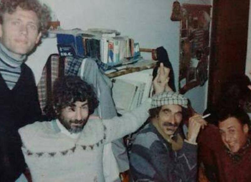 En el medio, Lulo Kristal y Pancho Silva.