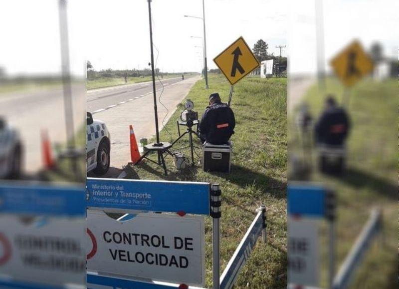 Para desprevenidos e imprudentes pusieron un radar sobre la ruta 16