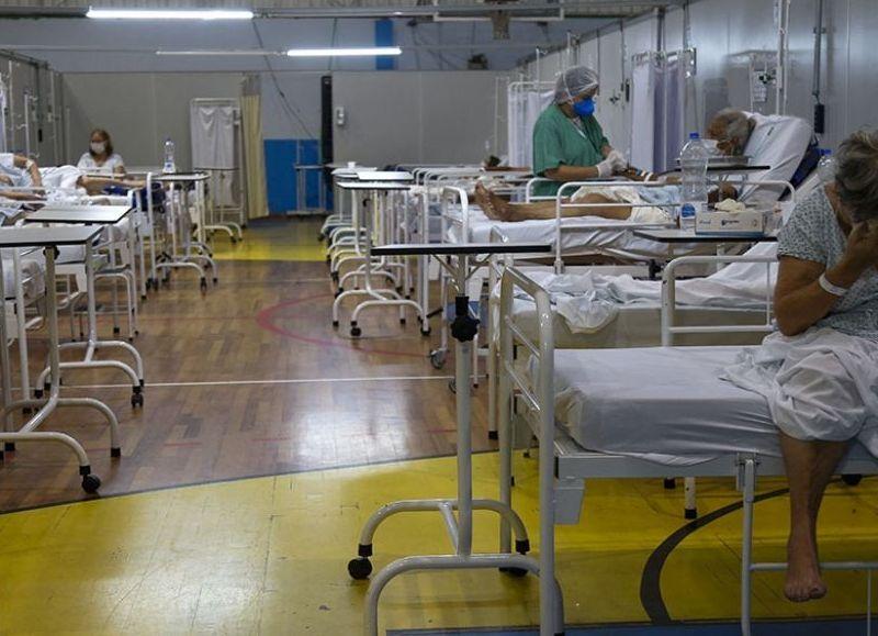Este martes el vecino país contabilizó 4.195 fallecimientos, el total acumulado se elevó a 336.947 desde que empezó la pandemia.