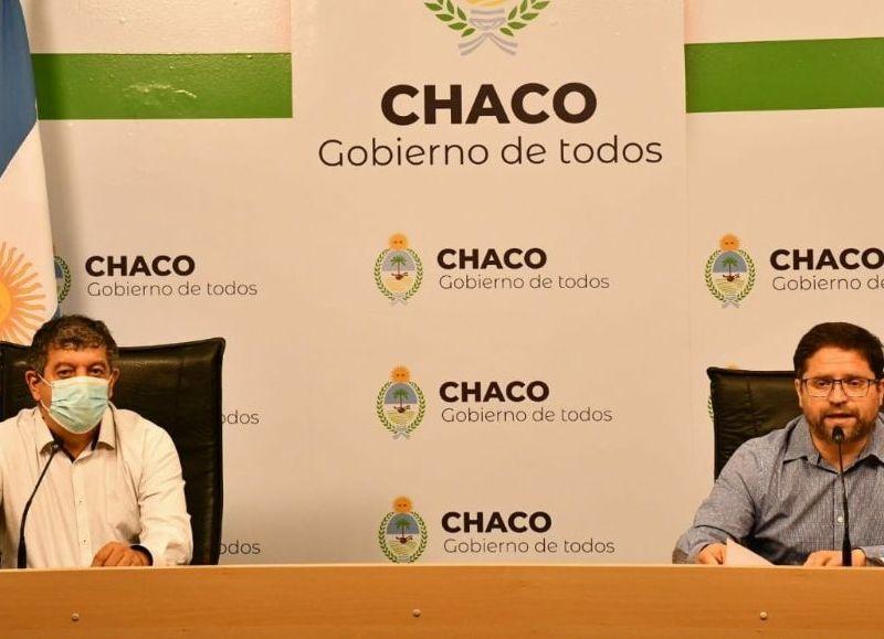 El parte epidemiológico provincial diario fue brindado en conferencia de prensa por el subsecretario de Promoción de la Salud Atilio García Plichta.