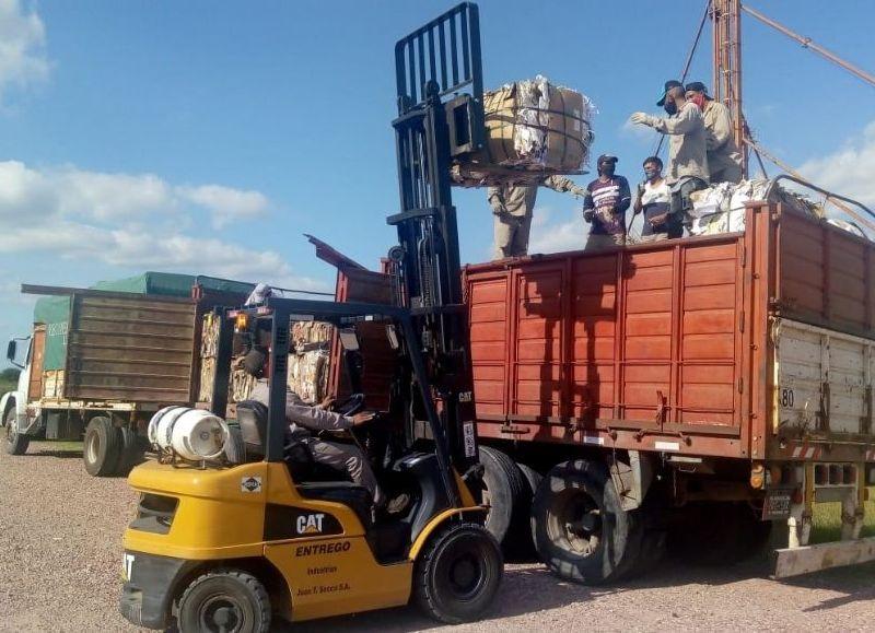 Durante el primer trimestre del año, la Termal vendió 124.092 kilos de material reciclable.