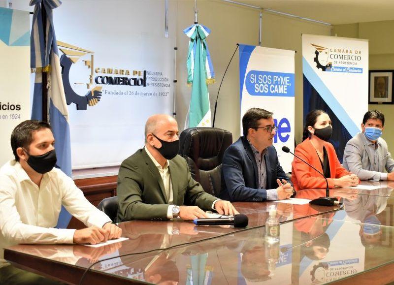 Autoridades de la entidad dieron detalles de la agenda institucional.