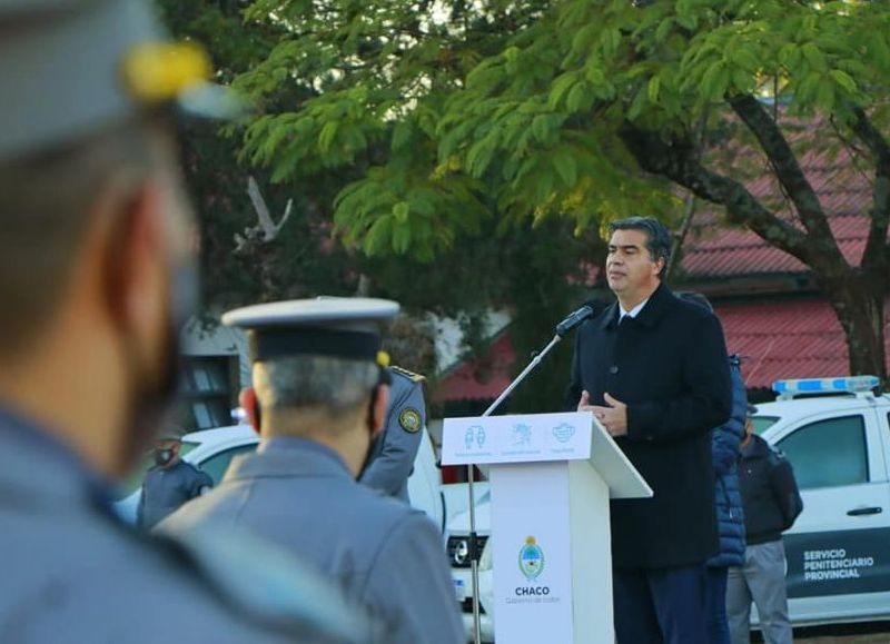 """Capitanich manifestó que """"adquirimos un financiamiento de 25 millones de dólares del Banco Centroamericano para aumentar la infraestructura del Alcaidía de Resistencia y Sáenz Peña""""."""