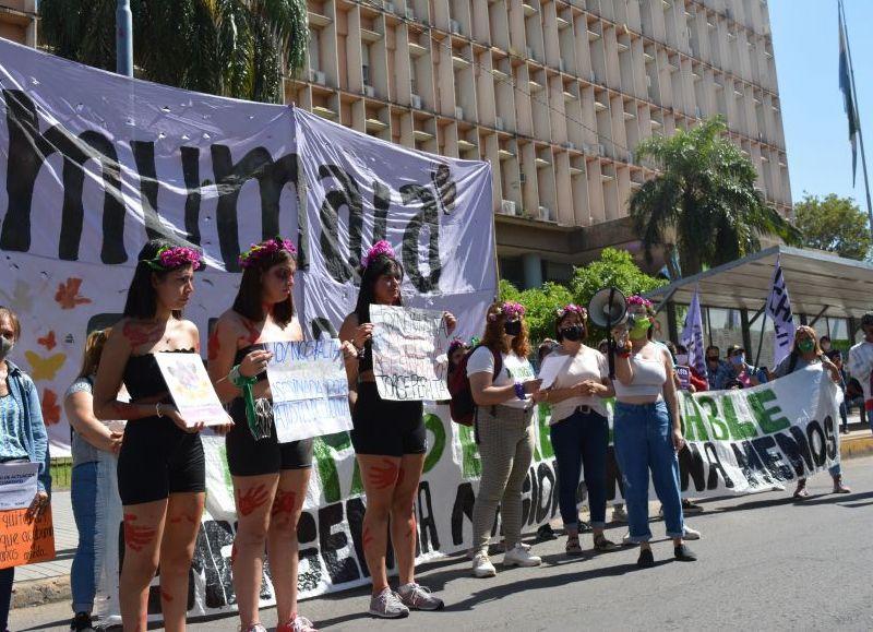 La movilización será desde las 8.30 en la plaza España, hacia Casa de Gobierno.