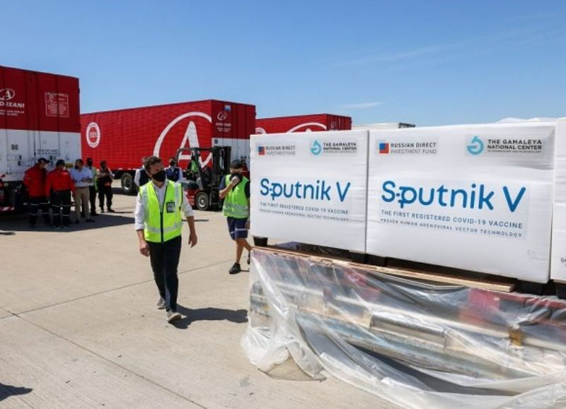 Será la operación número 24 que realiza Aerolíneas Argentinas a Rusia. El avión regresará también con dosis de los componentes 1 y 2 de Sputnik V.