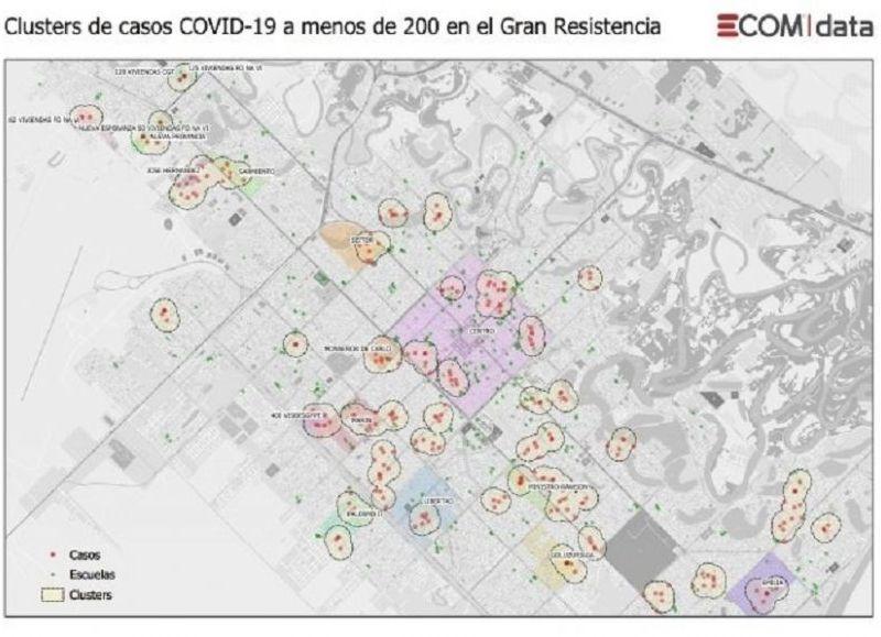 Se fortalecerá el sistema de bloqueo focal en el Área Metropolitana del Gran Resistencia y el Pasaporte COVID será obligatorio.