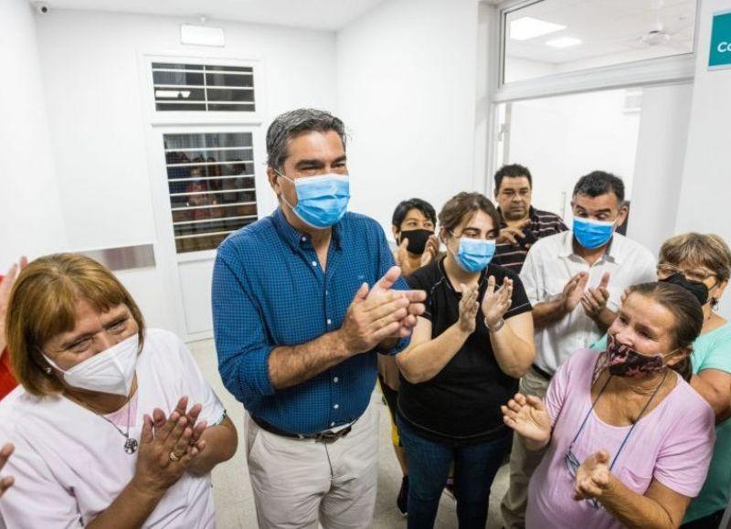 El Centro de Salud realiza distintas prestaciones como kinesiológica, clínica, pediátrica, odontológica y obstétrica. La obra demandó una inversión de $49.860.109.