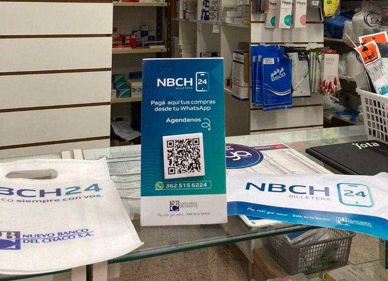 Durante octubre, también se acumulan chances en la promoción Superdías con los pagos con Billetera NBCH24: martes 30% de descuento en farmacias y 50% miércoles en alimentos.