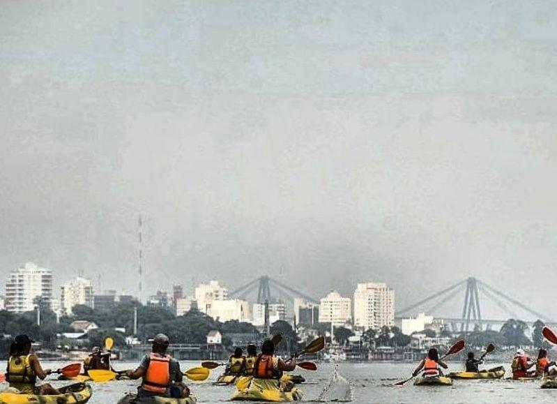 Y si te preguntás ¿es larga la distancia?, te decimos que arriba del kayak no se siente, es cuestión de animarse.