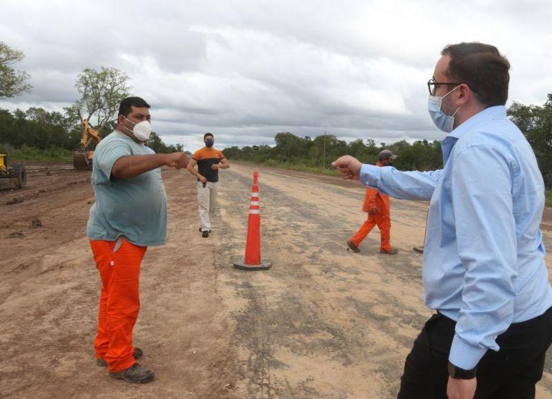 El ministro de Planificación, Economía e Infraestructura, Santiago Pérez Pons, anticipó las inversiones tras la visita del ministro Gabriel Katopodis.