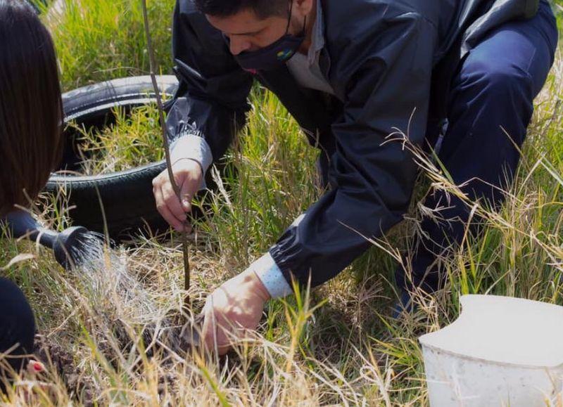 """El coordinador del área de Desarrollo Local Sustentable, Matías Solá detalló que """"con esta propuesta trabajamos en la sostenibilidad local""""."""
