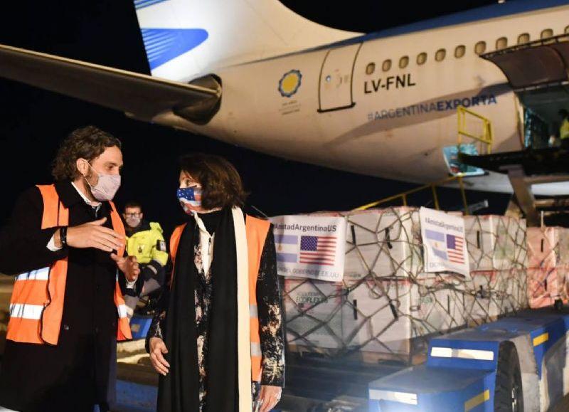 El Jefe de Gabinete adelantó que la llegada de las dosis desde Estados Unidos es inminente y analizó cómo viene la campaña electoral de cara a las PASO.