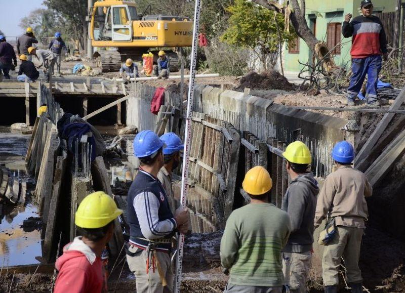 Obras complementarias ya se llevan adelante en la obra de la Avenida Leandro N. Alem.