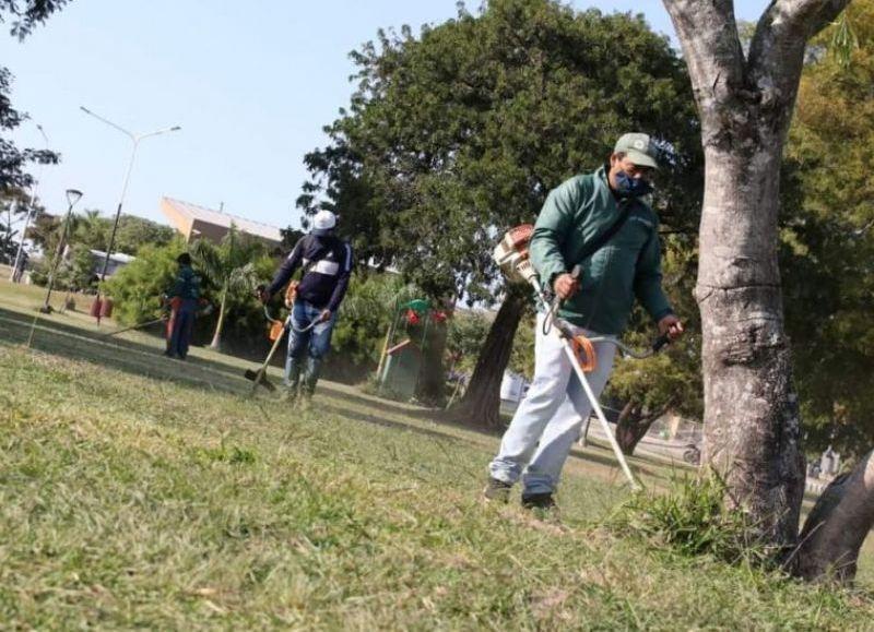 La Secretaría de Desarrollo Territorial y Ambiente intensifica la limpieza y recuperación de espacios verdes, instituciones educativas y la erradicación de basurales a cielo abierto.