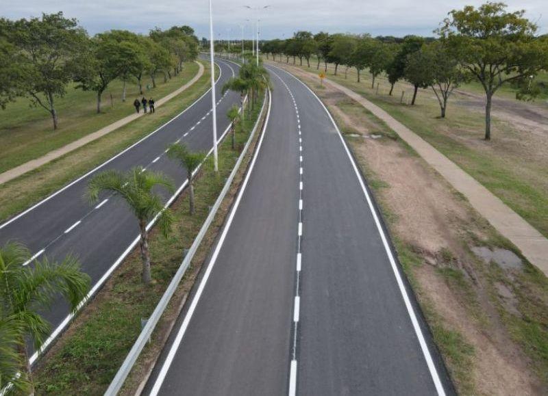 La obra demandó una inversión de $18.870.274,64 financiada con fondos propios. El tramo de 1.600 metros.