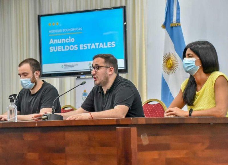 Pérez Pons detalló que atento a que este fin de semana se celebra el Día de la Madre, se decidió adelantar el pago de la Tarjeta Refrigerio por lo que el beneficio se acreditará el viernes 15.