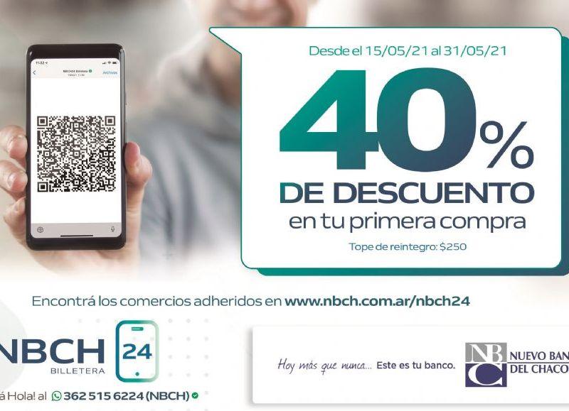 La información está disponible en la web del Nuevo Banco del Chaco: https://www.nbch.com.ar/NBCH24/Billetera/Billetera-WhatsAPP