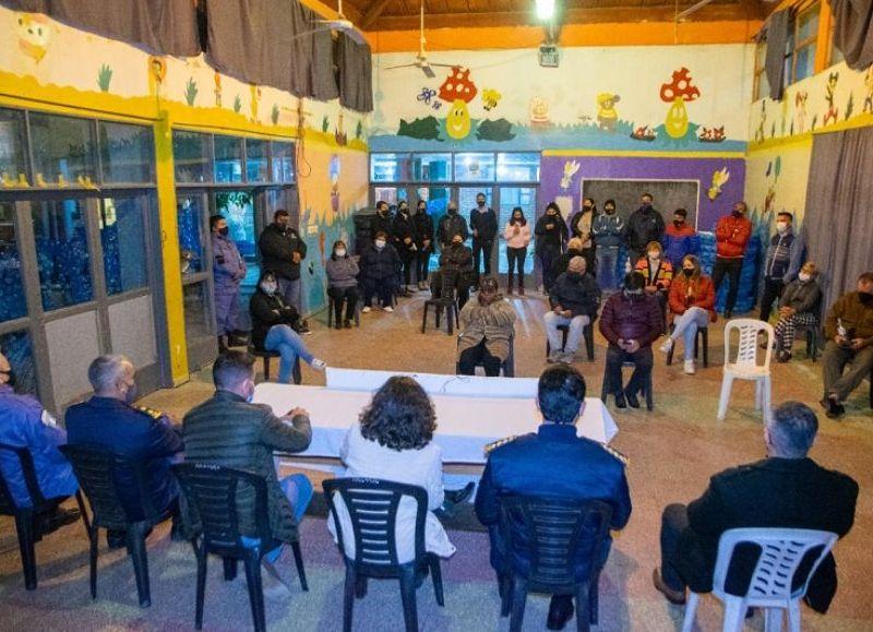 Los vecinos expresaron su necesidad de que exista mayor presencia policial para garantizar la seguridad, puntualmente en cinco barrios y principalmente en el barrio Güiraldes de Resistencia.