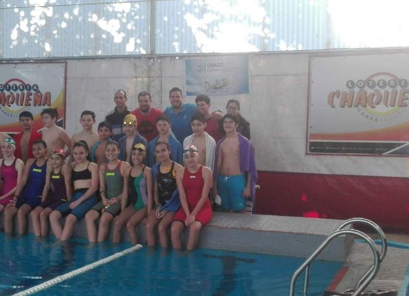 El club de la Avenida Ávalos participa con 62 nadadores. Grandes expectativas.