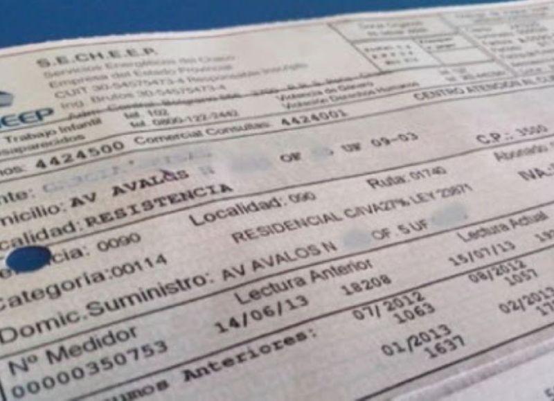 """En el caso del Chaco la deuda a Cammesa es de $7.600 millones por eso Secheep convoca a una audiencia pública para noviembre próximo con el fin de """"actualizar"""" las tarifas."""
